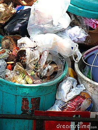 Garbage Background