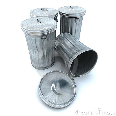 Free Garbage Cans Stock Images - 3138984