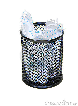 Free Garbage Container Royalty Free Stock Photo - 9675375