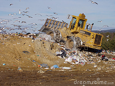Garbage Tractor