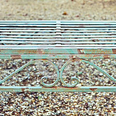 Free Garden Bench Stock Images - 37038314