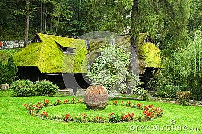The Garden of Bran Castle