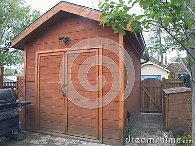 Garden Cedar Tool Shed