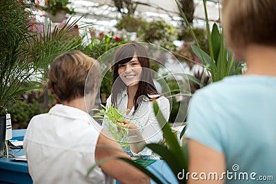 Garden Center Cashier Line