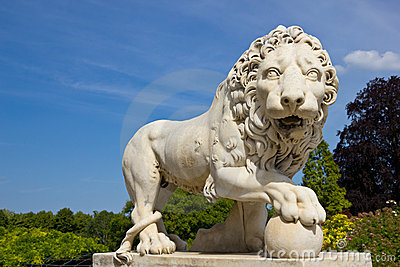 Garden of the Compiegne Imperial Castle