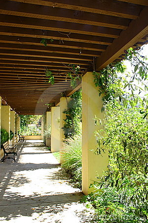 Garden Covered Corridor