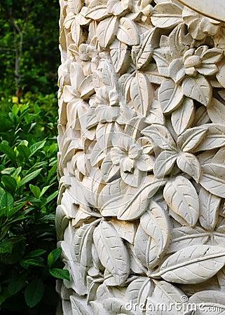 Free Garden Deco Exotic Bali Style Stock Photography - 48977862