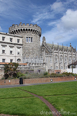 Garden in Dublin Castle