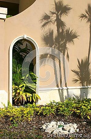 Free Garden Entrance Stock Photography - 7743642