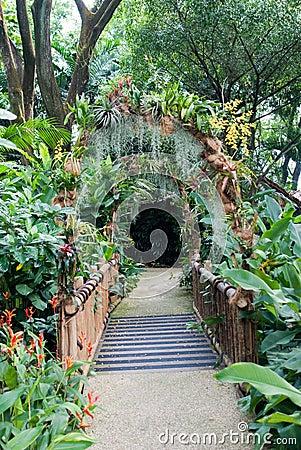 Free Garden Entrance Royalty Free Stock Photography - 9213117