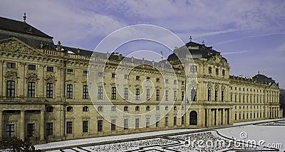 Garden Facade, Residence Wuerzburg