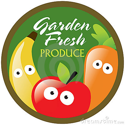 Garden Fresh Produce label/sticker
