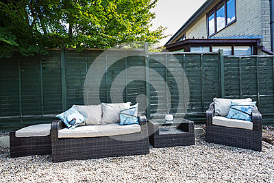 Garden Furniture Editorial Stock Image