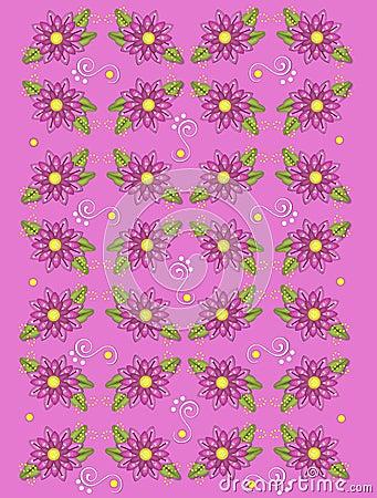 Garden Geraniums Deep Pink