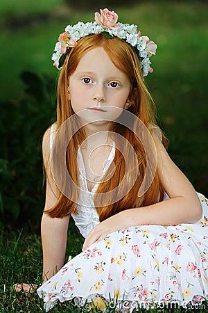 Free Garden Girl 4 Stock Image - 2836131