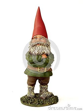 Free Garden Gnome Royalty Free Stock Photo - 580725