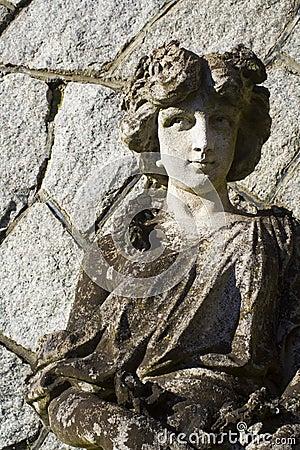Free Garden Goddess Sculpture Royalty Free Stock Image - 4473376
