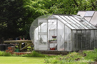 Garden Greenhouse Stock Photos - Image: 24987403