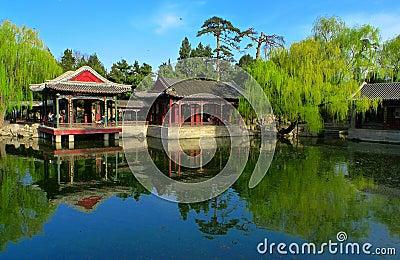 Garden of Harmonious Interests in summer palace