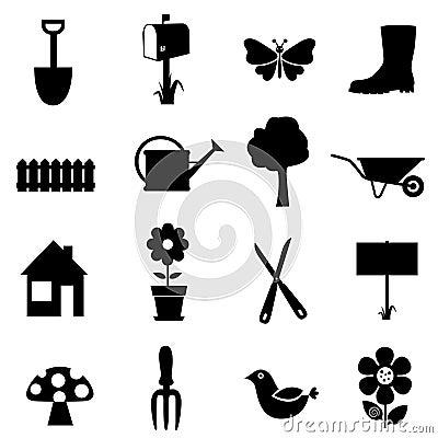 Free Garden Icon Stock Image - 16974821