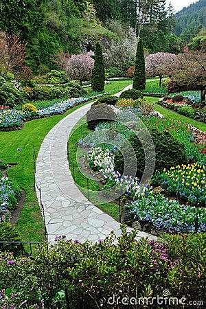 Garden landscaping, victoria bc