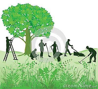 Free Garden Maintenance Royalty Free Stock Photos - 64768918
