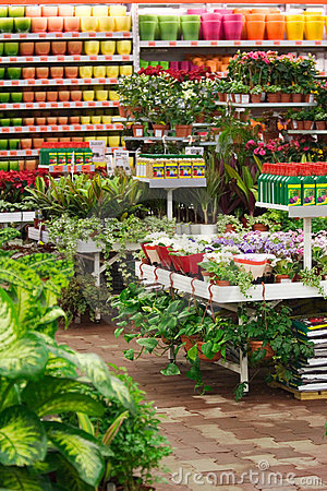 Garden Market Royalty Free Stock Photos - Image: 3216468
