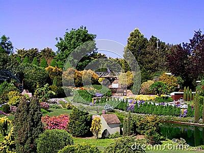 Garden off Canberra, Australia