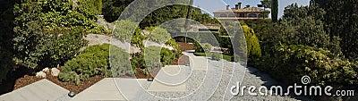 Garden panoramic