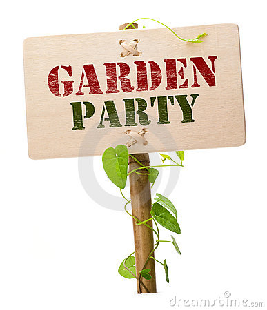 Free Garden Party Invitation Card Stock Photos - 14345393