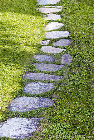 Free Garden Path Royalty Free Stock Image - 21531406