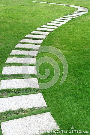 Free Garden Path Royalty Free Stock Image - 6169306