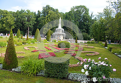 Garden of Peterhof