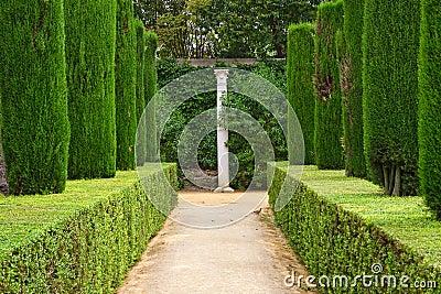 Garden of the Poets, Alcazar Palace