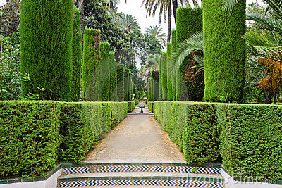 Garden of the Poets, Alcazar Palace