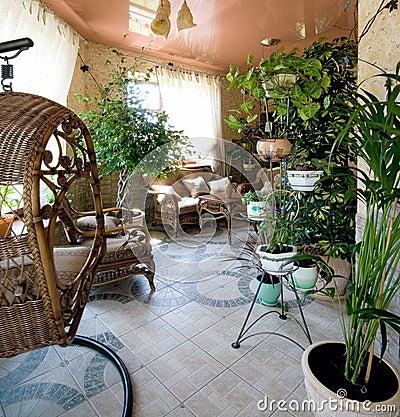 Garden room for rest