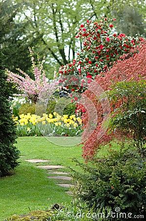 Free Garden Scene Stock Photography - 731552