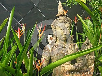 Garden Statue in Thailand