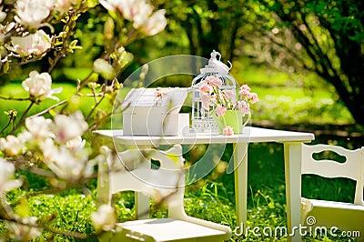 Garden still life
