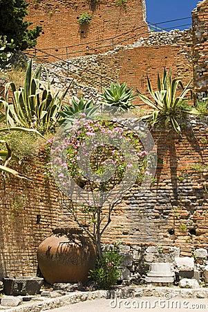 Garden taormina sicily