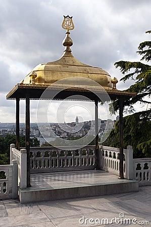 Garden in Topkapi Palace