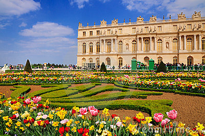 Garden of Versailles Editorial Stock Photo