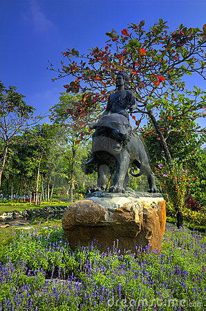 Garden View in Muang Boran, Thailand