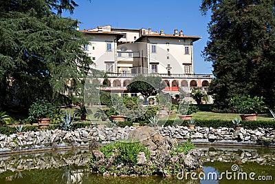 Garden of Villa Medici Poggio a Caiano
