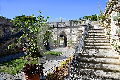 Garden of Vizcaya in Miami, USA