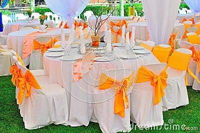 Garden wedding and party