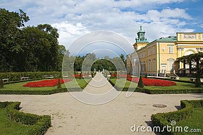 Garden in Wilanow, Warsaw