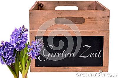 Garden wood box