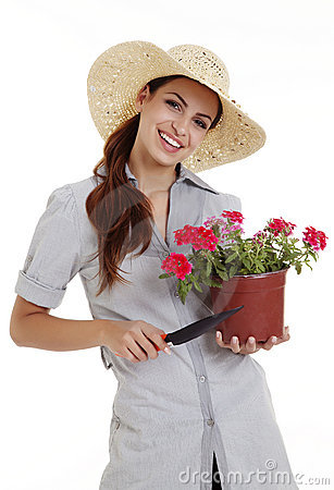 Free Gardener Stock Image - 12941231