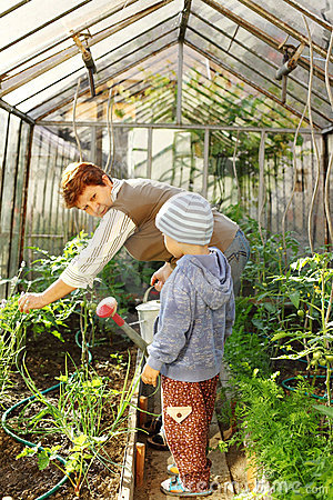 Gardening with granny
